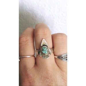 Jewelry - Turquoise Arrowhead Ring